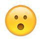 Emoji mit offenem Mund