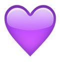 Bildergebnis für herz lila