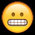 Smiley mit Zähne