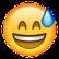 Emoji mit Schweiß auf der Stirn