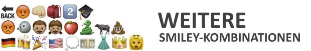 WhatsApp perverse Smileys und Kombinationen › smiley