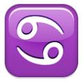 ♋ Krebs Emoji (Sternzeichen)