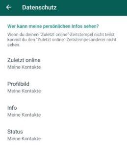 WhatsApp Profilbild sichtbar, wenn blockiert? › smiley