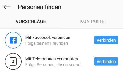 Instagram Personen Finden