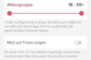 Tinder deaktivieren: Konto pausieren? › smiley-bedeutung.de