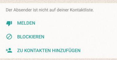 Whatsapp Nachrichten Von Fremden