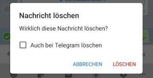 Telegram gelöschte Nachrichten wiederherstellen? › smiley